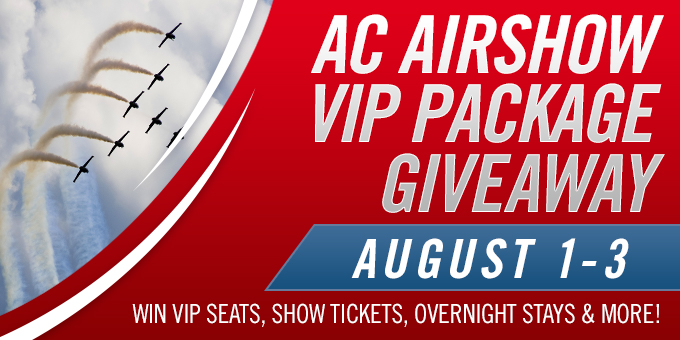 AC Airshow VIP Package Giveaway