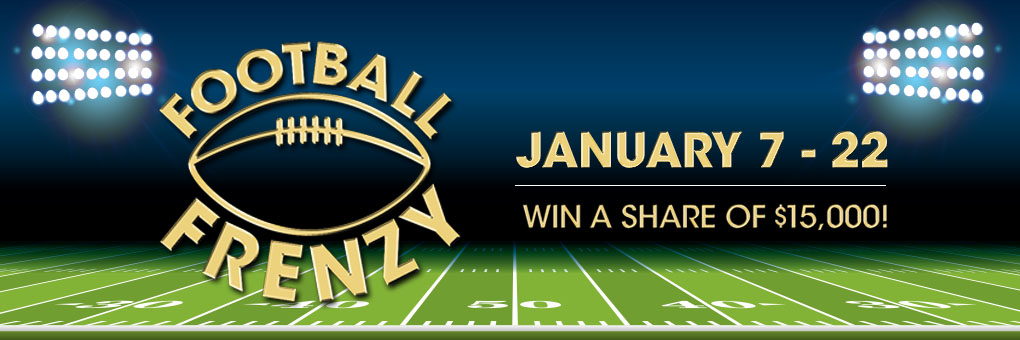 Football Frenzy Sweepstakes
