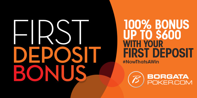 100% up to $600 First Deposit Bonus