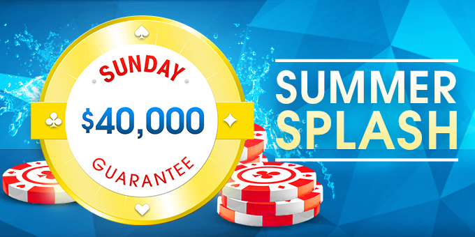 $40K Sunday Summer Splash