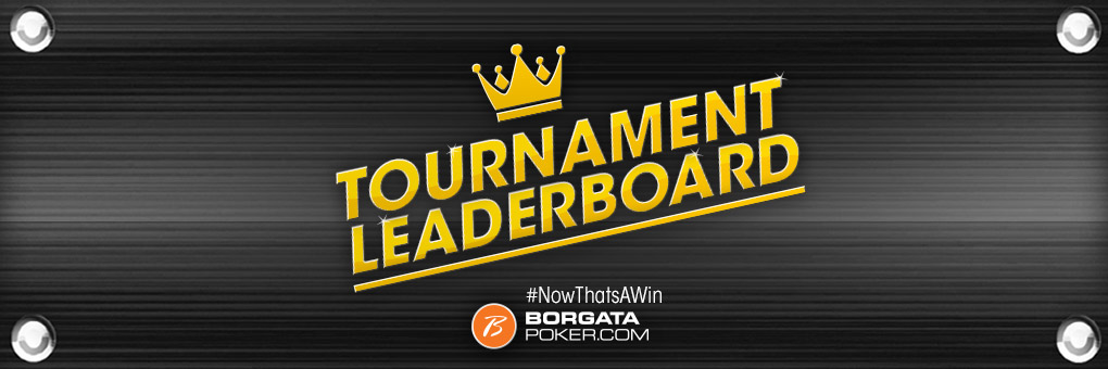 Online Poker Tournament Leaderboard