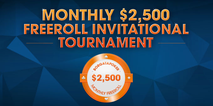 $2,500 Monthly Invitational Tournament