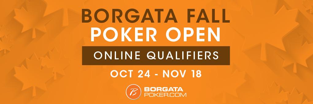 Borgata Fall Poker Open Online Qualifiers