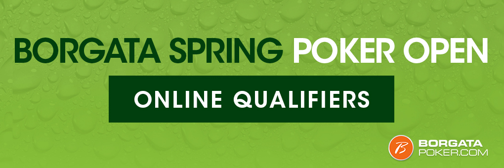 Online Satellites to Borgata Spring Poker Open Events
