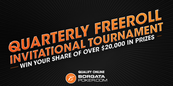Online Quarterly Freeroll Tournament