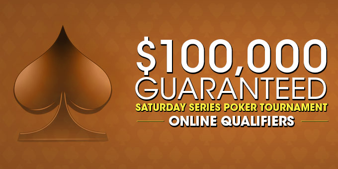 Online Satellites to $100,000 Guaranteed Borgata Saturday Series