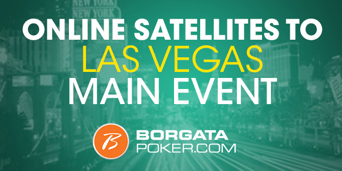 Online Satellites to Las Vegas Main Event